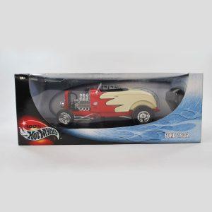 Hot Wheels 1932 Ford Deuces Wild Model Car 1/18 Scale By Mattel