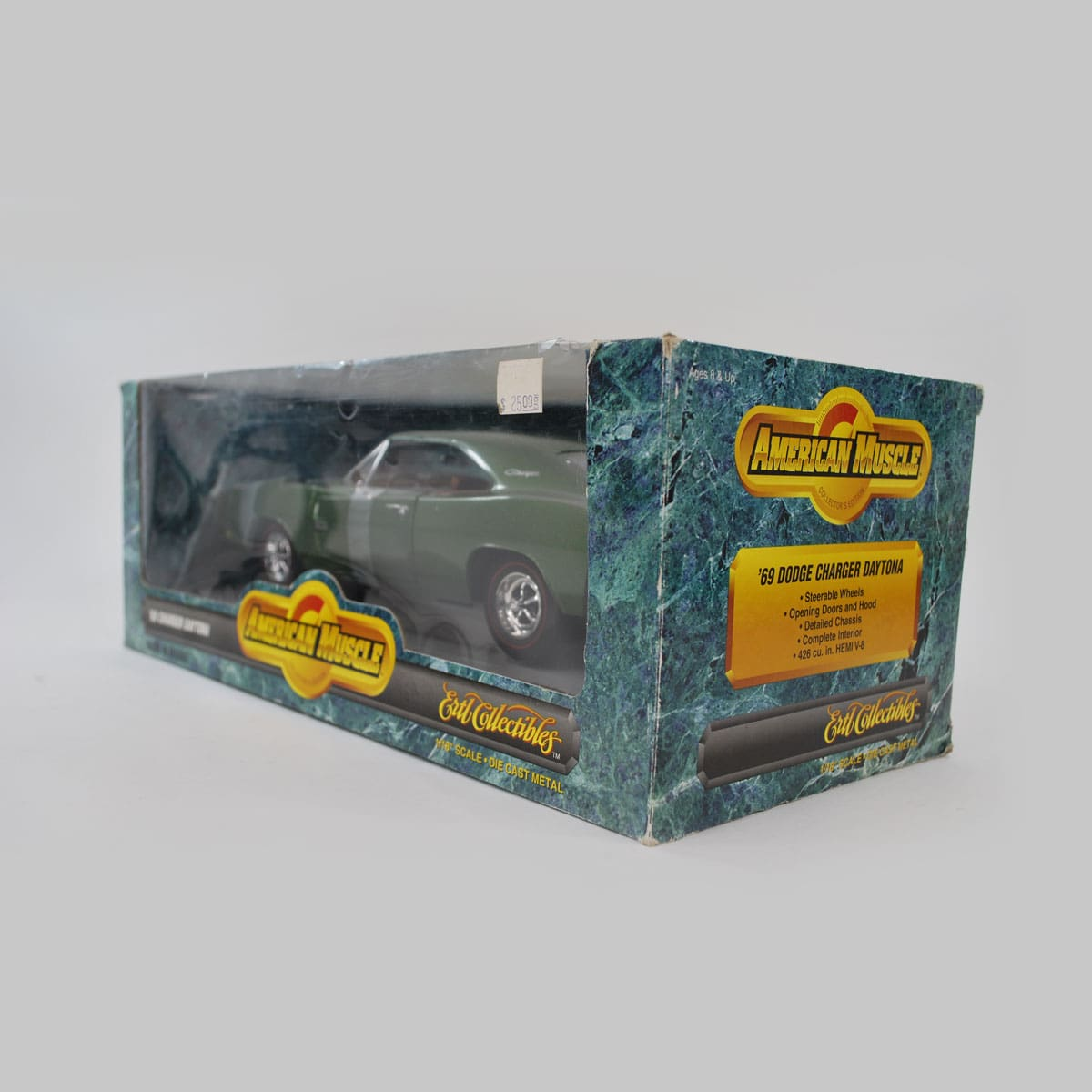 1969 Dodge Daytona Charger 1/18 Scale Diecast Model Car By ERTL