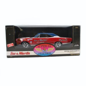 1969 Plymouth GTX Diecast Super Stock Model Car 1/18 Scale By ERTL