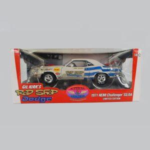 1971 Dodge Hemi Rod Shop Challenger SS/DA #88 1/18 Scale Diecast Model Car By Ertl