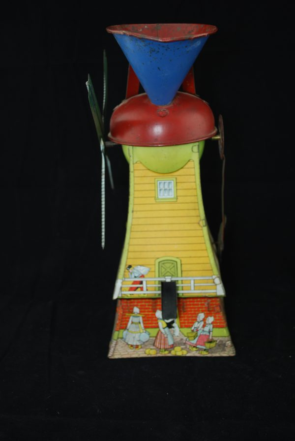 #26 MAC Dutch Mill Tin Sand Toy Vintage 1920's