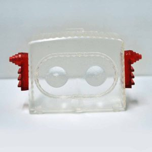 Replica Face Shield for Alps Television Spaceman Robot Tin Toy Japan