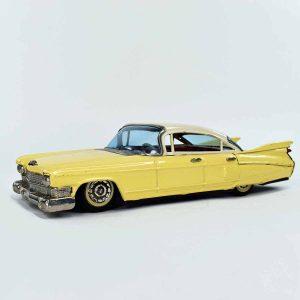 Bandai 1959 Cadillac Tin Friction Car
