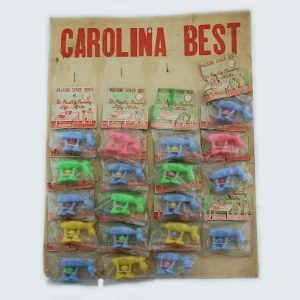 RARE Carolina Best 'Space Walking Dogs' Counter Card Display