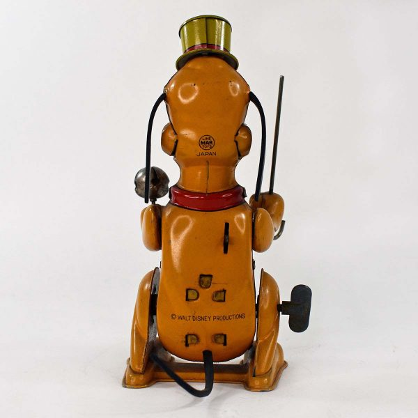 Marx Linemar Toys Pluto the Drum Major Wind Up Tin Toy
