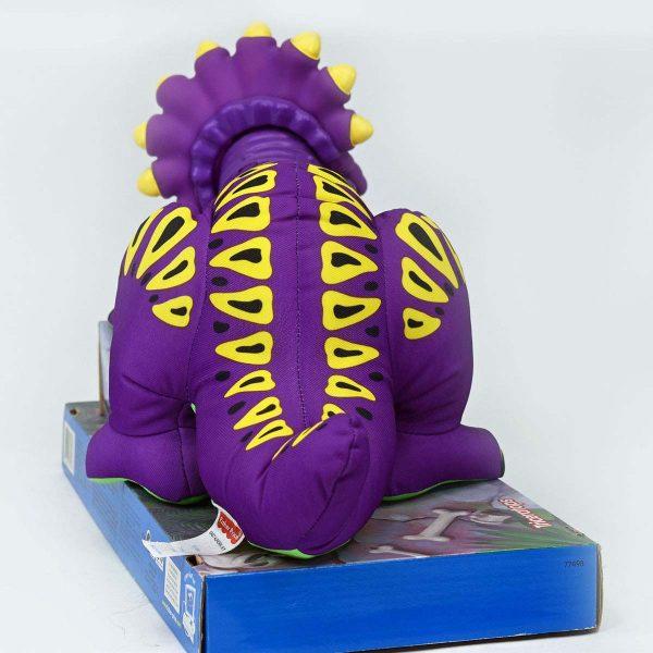 Fisher-Price 'Dino-roarrrrr' Triceratops Puffalump Stuffed Toy