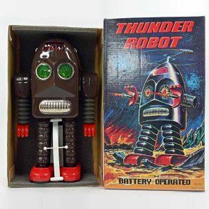 Ha Ha Toys Thunder Robot in Brown Color