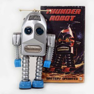 HaHa Toys Thunder Robot in Silver Color