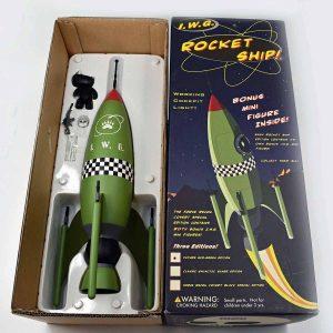 I.W.G. Rocket Ship, Rocket World, Green Version in Box