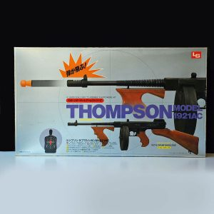 L.S. Thompson Submachine Gun with Drum Magazine Model Kit 1921AC 1:1 Scale