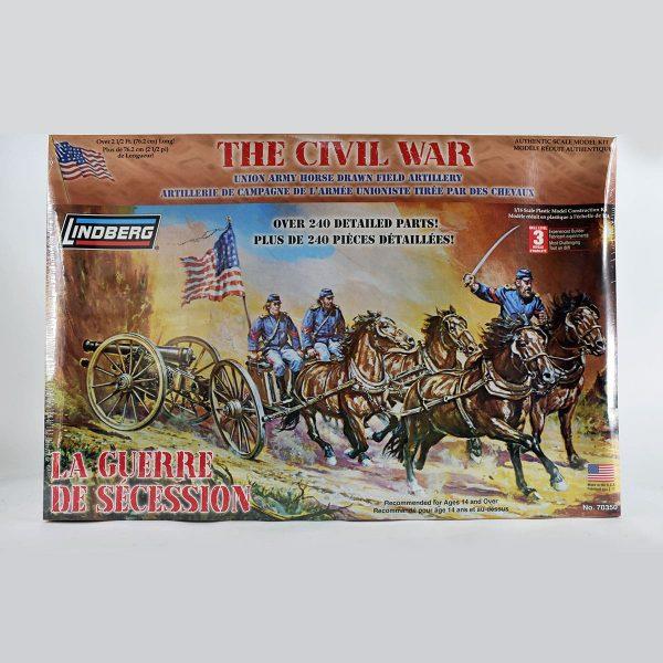 Lindberg The Civil War, Union Horse-drawn Field Artillery Kit