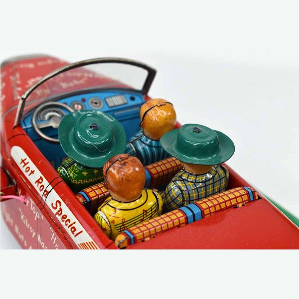 Remote Control Battery Operated Linemar Toys College Jalopy with Box
