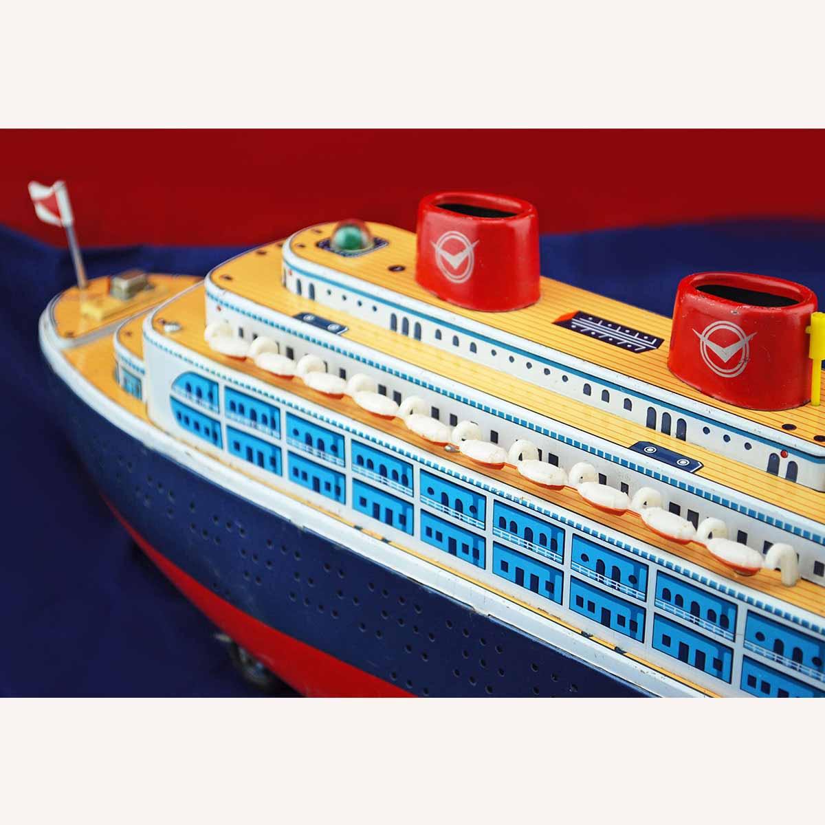Masudaya 'Queen Of The Sea' Battery Operated Ocean Liner