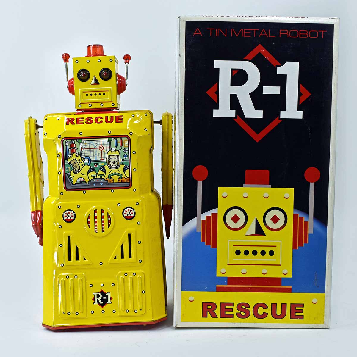 Rocket USA 'Rescue Robot' R-1 Battery Operated