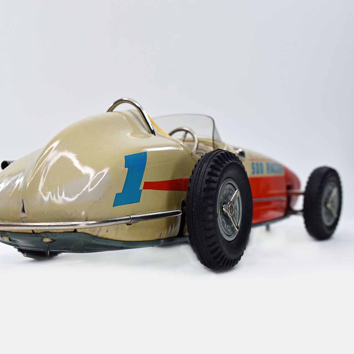 Sears Exclusive Indianapolis 500 Racer With Built In Jacks in Original Box