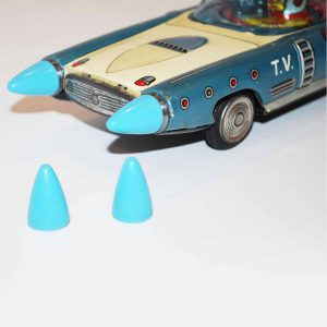 Sensco Japan TV Space Patrol / Future Cars Replacement Front Bumper Cones