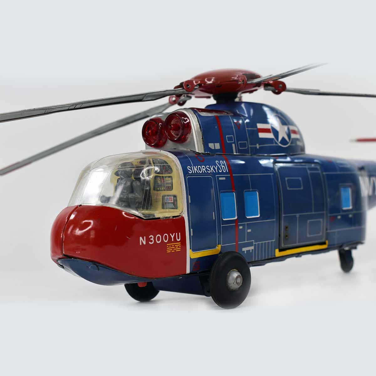 Yonezawa Sikorsky S61 Helicopter Battery Operated