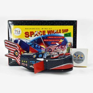 Space Whale Ship, St. John Toys, Mechanical Wind Up
