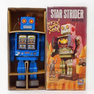 Star Strider Robot by Horikawa with Original Box, Japan A.L.4