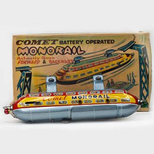 Comet Monorail Battery Operated Toy, TN Nomura Japan
