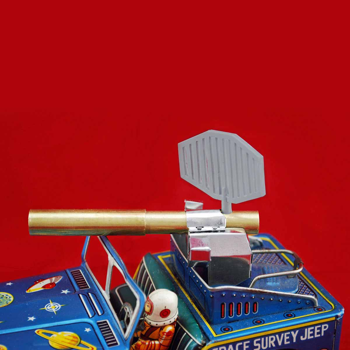 Toy Masters Space Survey Jeep Replacement Antenna by Uncle Al's Toys