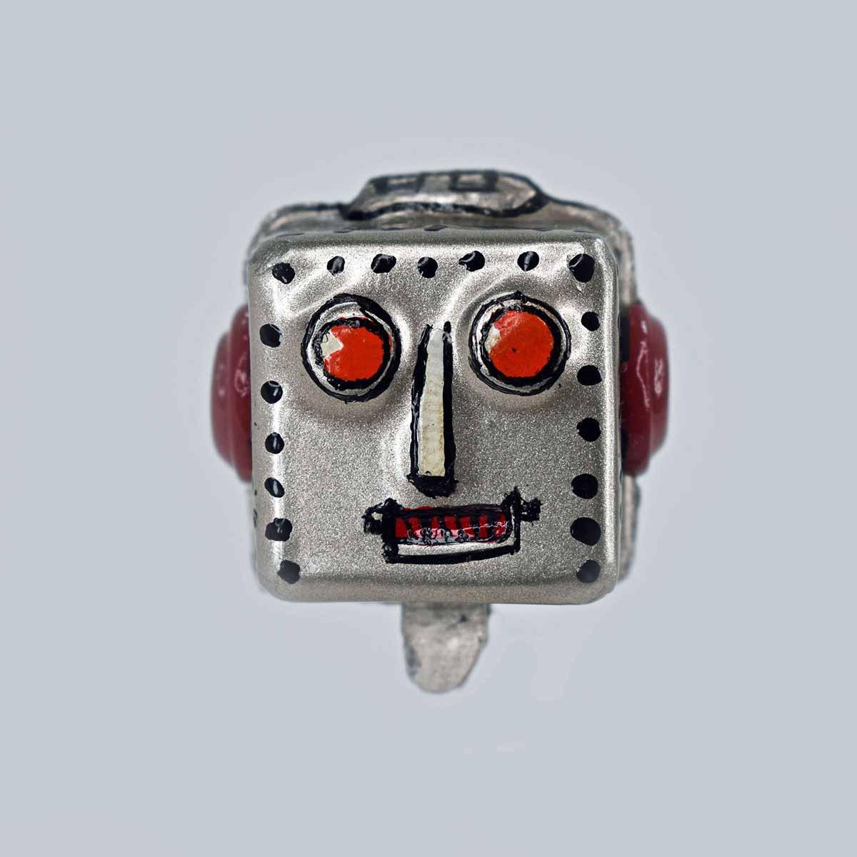 'Y' Company Space Patrol Robot Car Driver Head