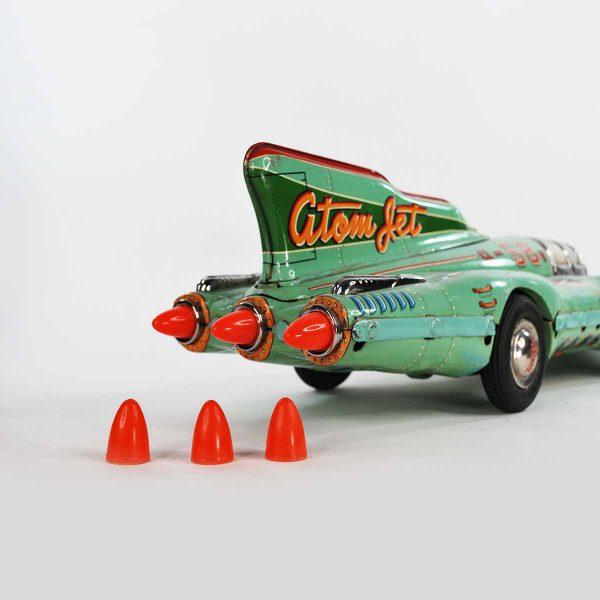 Yonezawa Atom Jet Racer Cone Shaped Tail Lights, Set of 3